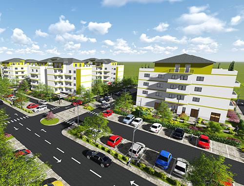 Apartament NOU 2 camere 54 mp et.2 Terezian