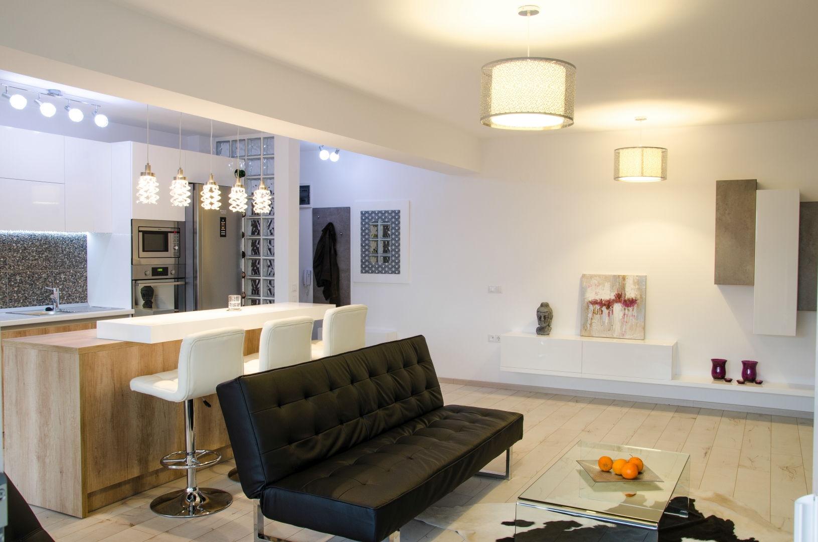 SemiCENTRAL Et.1 – Apartament NOU 3 camere 84 mp