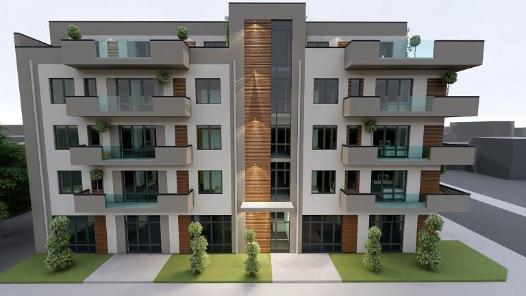 CENTRAL Et.1 – Apartament 3 camere 2 bai+ garaj