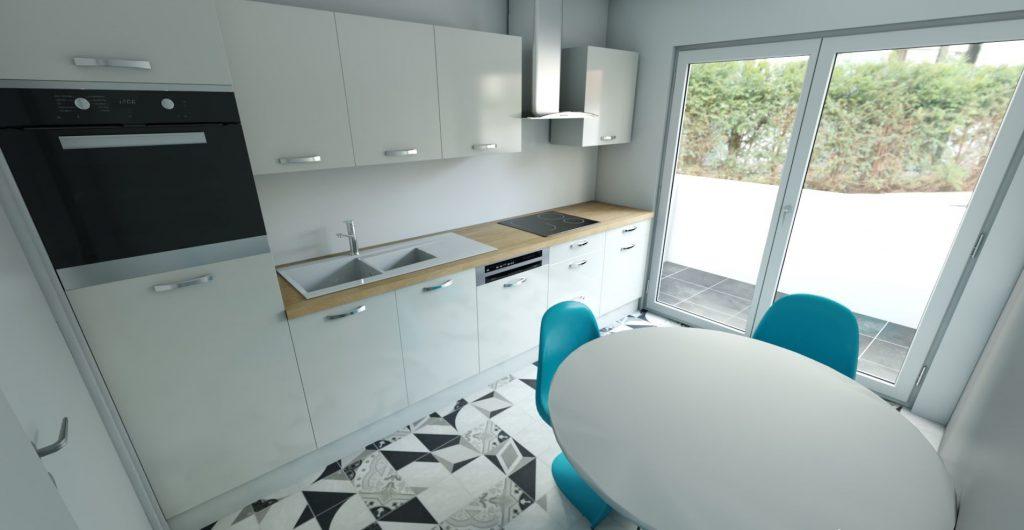 Turnisor Et.3 – Apartament 3 camere 2 bai+ garaj