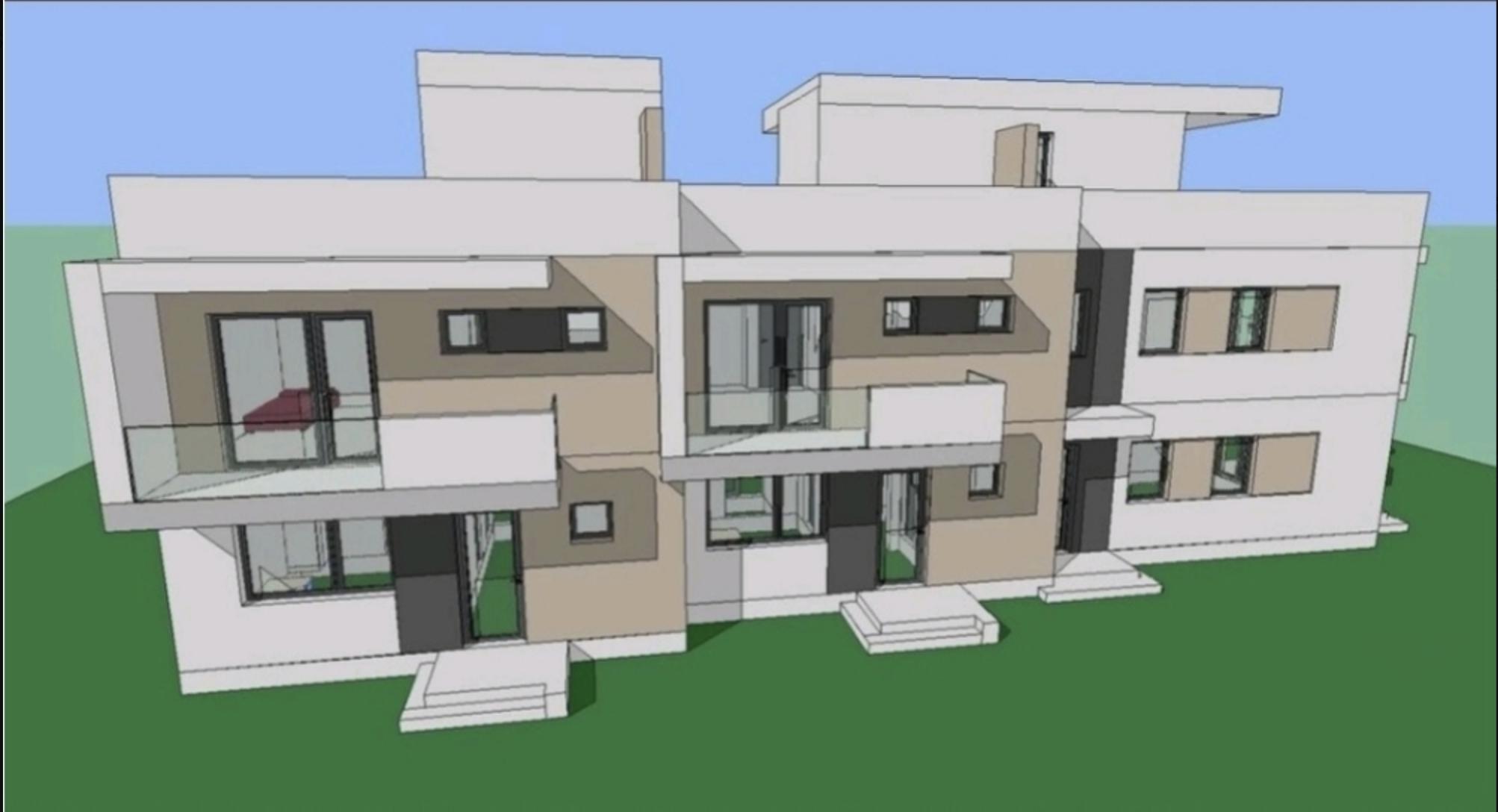 Ap.DEOSEBIT 4 camere/ terasa panoramica+ gradina/ Pictor Brana