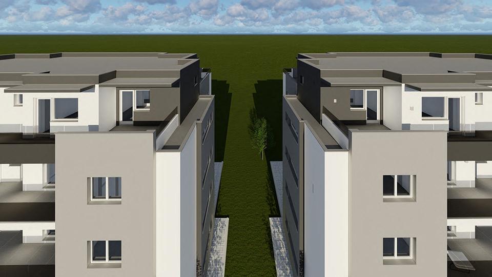 PentHOUSE semiCENTRAL 4 camere decomandate+ 60 mp terasa